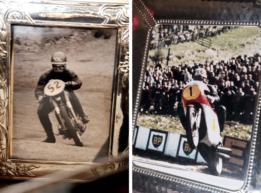 Gamba fuori (vi ricorda qualcuno?) e impennata con la MV 500 (Photo by Gabriele Micalizzi)