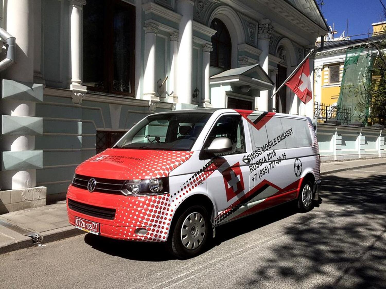 """Mondiali Russia 2018: la Svizzera ha un consolato """"mobile"""""""
