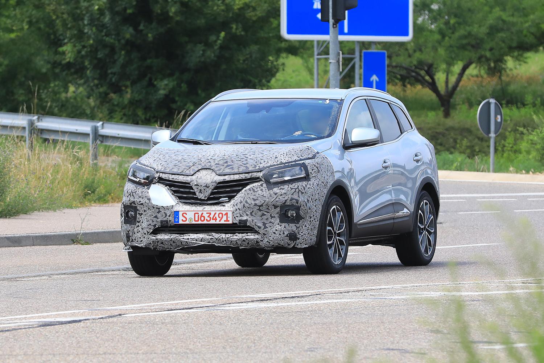 Renault Kadjar restyling, le foto spia
