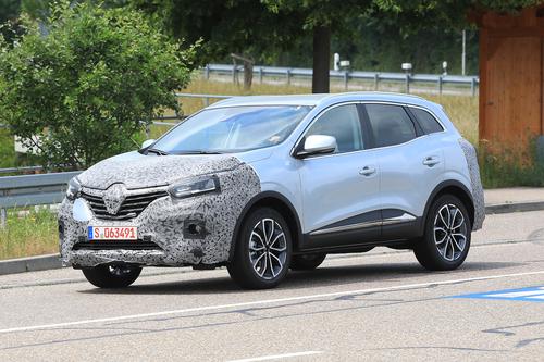 Renault Kadjar restyling, le foto spia  (4)