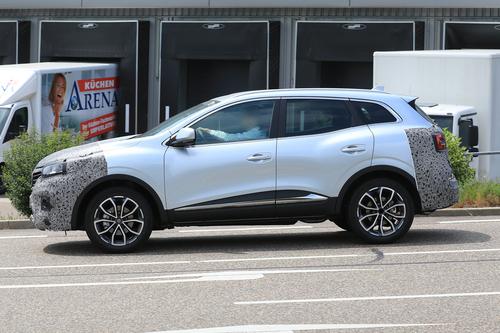 Renault Kadjar restyling, le foto spia  (7)