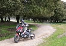 Gibraltar Race: Zocchi in gara con una Honda X-ADV