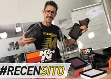 K&N. Recensito filtri aria per Aprilia, BMW, Yamaha