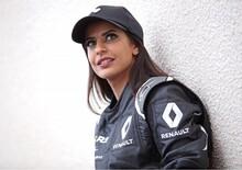 Al volante di una F1 per celebrare le donne alla guida in Arabia Saudita