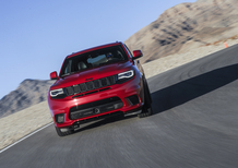 Jeep Grand Cherokee Trackhawk, mostro da 700 CV [Video]