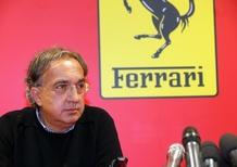 Marchionne: «SUV Ferrari? L'ho visto a Maranello»