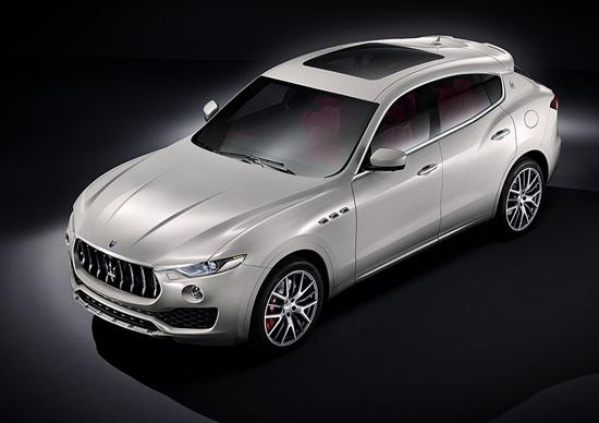 Maserati Levante: ecco il SUV della riscossa presentato al Salone di Ginevra 2016