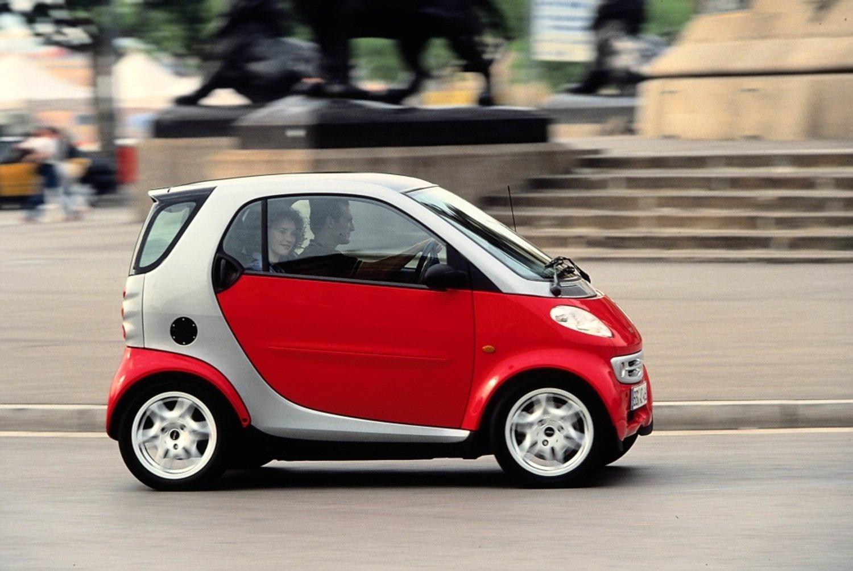 Smart, 20 anni fa nasceva la city car voluta da Mr Swatch