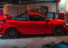 Honda Civic Type R Pick Up. Sì, avete visto bene