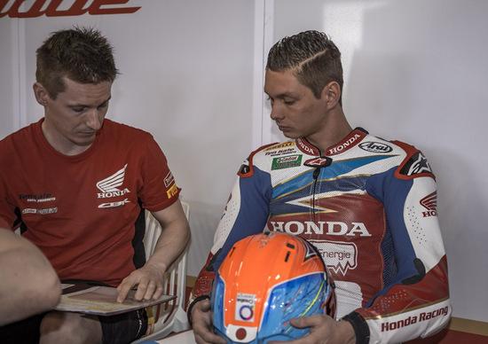 Test SBK - Van der Mark  è il più veloce nella prima sessione