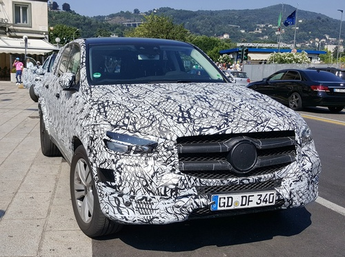 Nuova Mercedes GLE 2019: 3 modelli preserie sul lago di Como (4)
