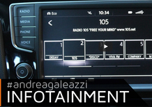 Volkswagen Golf R: il focus sull'infotainment [Video]