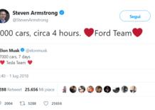 Tesla, 7000 auto in 7 giorni. Ford risponde, 7000 in 4 ore