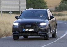 Audi Q3, le foto spia