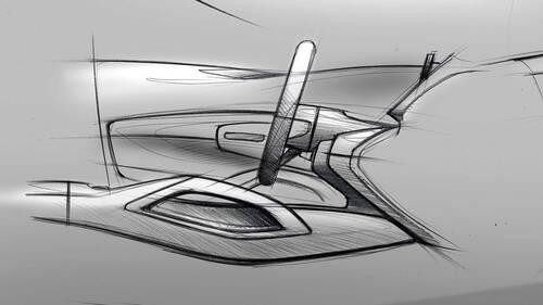 Nuova Mercedes GLE, i bozzetti degli interni (6)