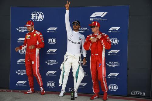 F1, GP Silverstone 2018: pole per Hamilton. Secondo Vettel (9)