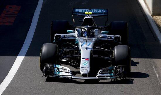 Valtteri Bottas, quarto nel Gran Premio di Silverstone