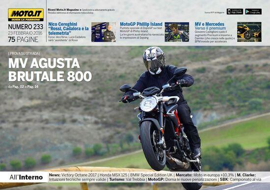 Magazine n°233, scarica e leggi il meglio di Moto.it
