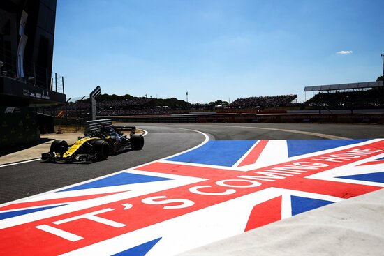 Sesta posizione per Nico Hulkenberg nel Gran Premio di Silverstone