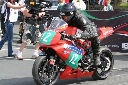 La Agni TT, vincitrice del 1° TTXGP all'Isola di Man, nel 2009