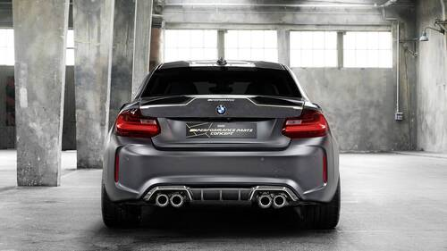 BMW M2 M Performance Parts Concept, debutto a Goodwood (6)