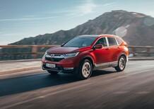 Honda CR-V: test 1.5 benzina, no diesel in gamma! [Video]