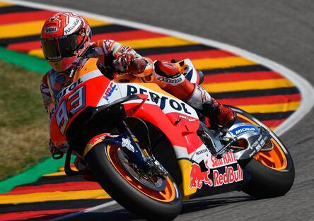 MotoGP 2018. Marquez vince il GP di Germania