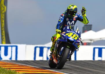 MotoGP 2018. Rossi: Ho fatto 30 giri da dio