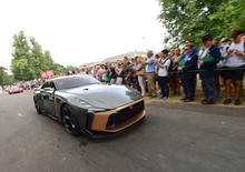 Nissan GT-R 50 by Italdesign, in azione a Goodwood 2018 [Video]