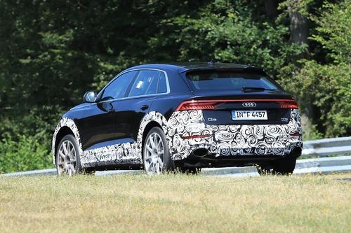 Audi RS Q8, le foto spia (5)