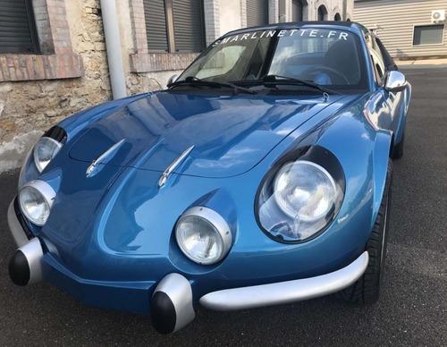 Smarlinette: un po' Alpine A110, un po' Smart Roadster (3)