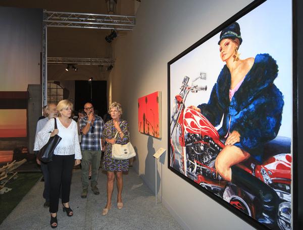 Easy Rider: la mostra che unisce la moto e l'arte come mai