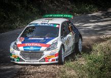 CIR 2018, Rally di Roma. Andreucci comanda la pattuglia italiana