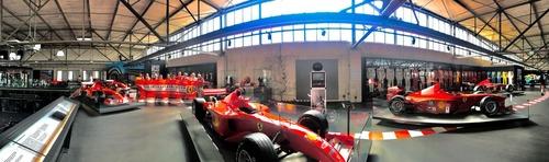 F1: visita al museo dedicato a Michael Schumacher (2)