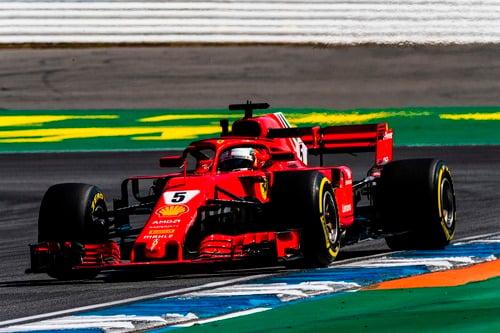 F1, GP Germania 2018, FP3: Leclerc al top sotto la pioggia (2)