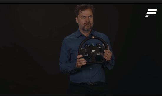 Un prototipo di volante per Direct Drive
