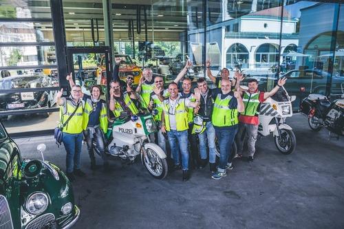 Moto Club Polizia di Stato, viaggio sociale a Monaco di Baviera (3)