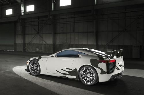 Lexus LFA, una art car per la 24h di Spa 2018 (2)