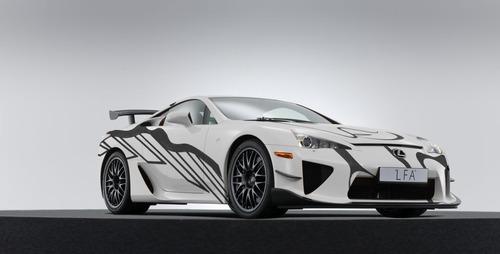 Lexus LFA, una art car per la 24h di Spa 2018 (5)