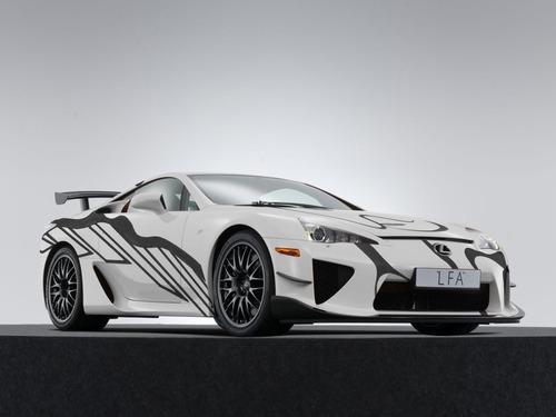 Lexus LFA, una art car per la 24h di Spa 2018 (6)