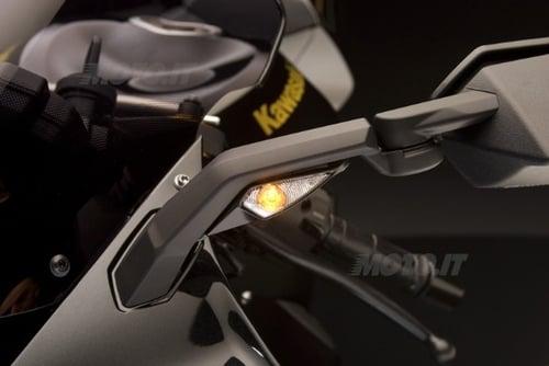 ZX 10R Frecce anteriori