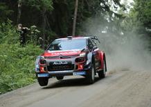 WRC 2018/Citroen. Finlandia Finale. Il Capolavoro Ostberg e C3 WRC vale molto più del secondo posto assoluto