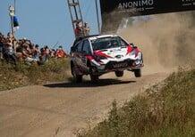 WRC18 Finlandia. Day 2: Tanak, Toyota