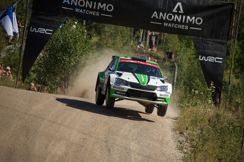 WRC18 Finlandia. Day 2: Tanak, Toyota (2)