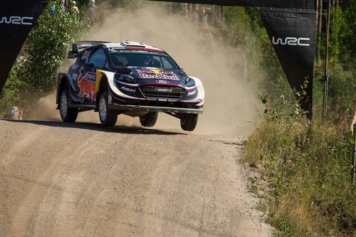 WRC18 Finlandia. Day 2: Tanak, Toyota (3)