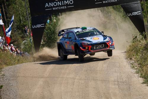 WRC18 Finlandia. Day 2: Tanak, Toyota (6)