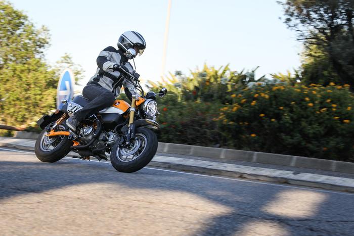 Honda Monkey, uno spasso in città!