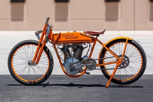 Harley-Davidson 11K 1915, la prima moto da corsa H-D all'asta (2)