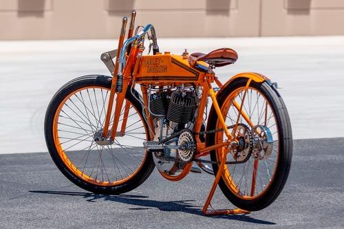 Harley-Davidson 11K 1915, la prima moto da corsa H-D all'asta (5)
