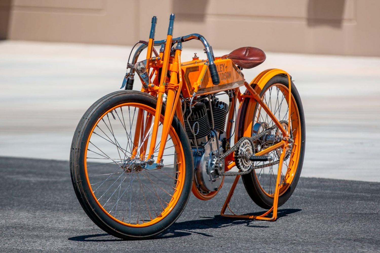 Harley-Davidson 11K 1915, la prima moto da corsa H-D all'asta